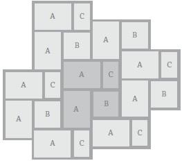 floor tile patterns 3 sizes gurus floor. Black Bedroom Furniture Sets. Home Design Ideas