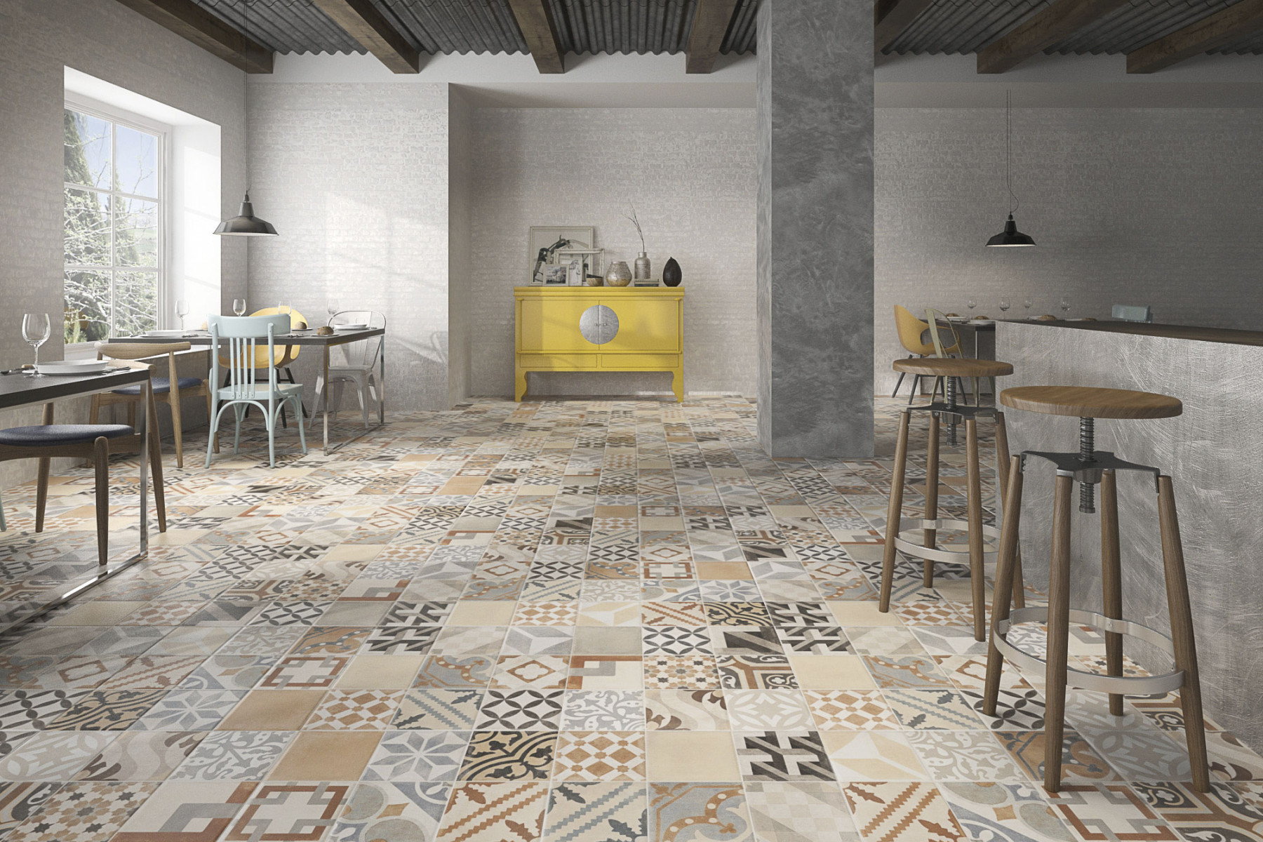 Artisan Mix Glazed Tiles From Alistair Mackintosh