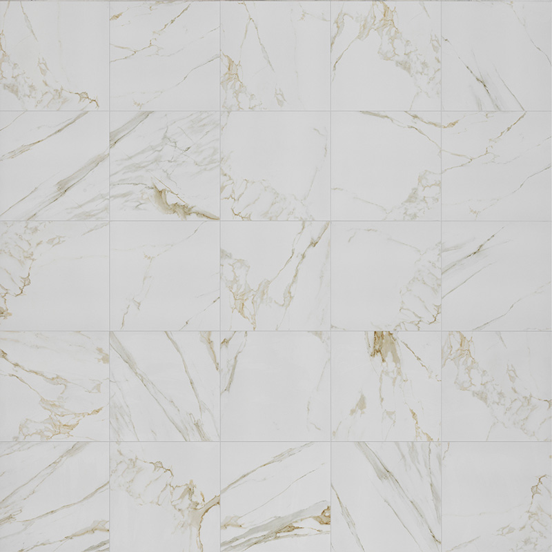 Calacatta Oro Marble Effect Porcelain Tiles From Alistair