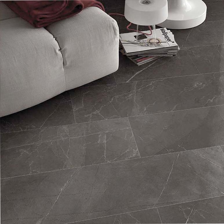 Gijon Gris marble effect porcelain tiles PP opt