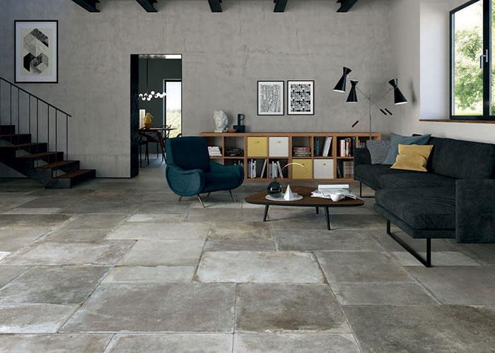 Aquitaine stone porcelain tiles