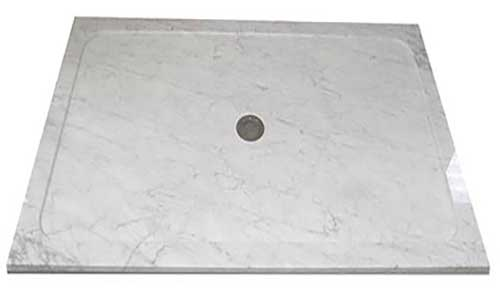 Bianco Carrara Shower Trays