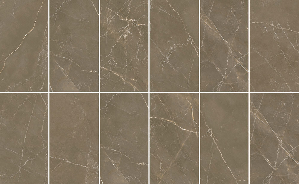 Palma Umber Marble Porcelain Tiles From Alistair Mackintosh