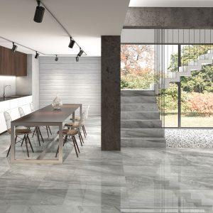 Rigo Silver Stone Effect Tiles