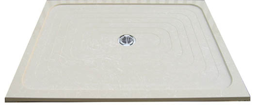 crema quartzstone wave tray
