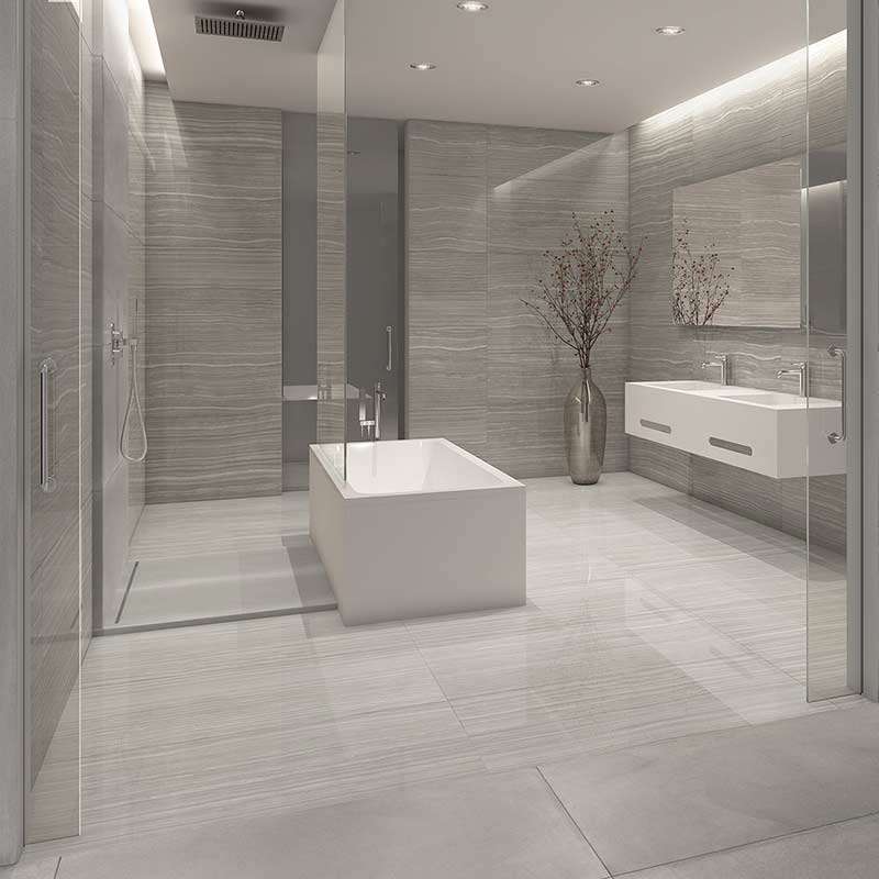Cadiz Grey Marble Effect Porcelain Tiles From Alistair
