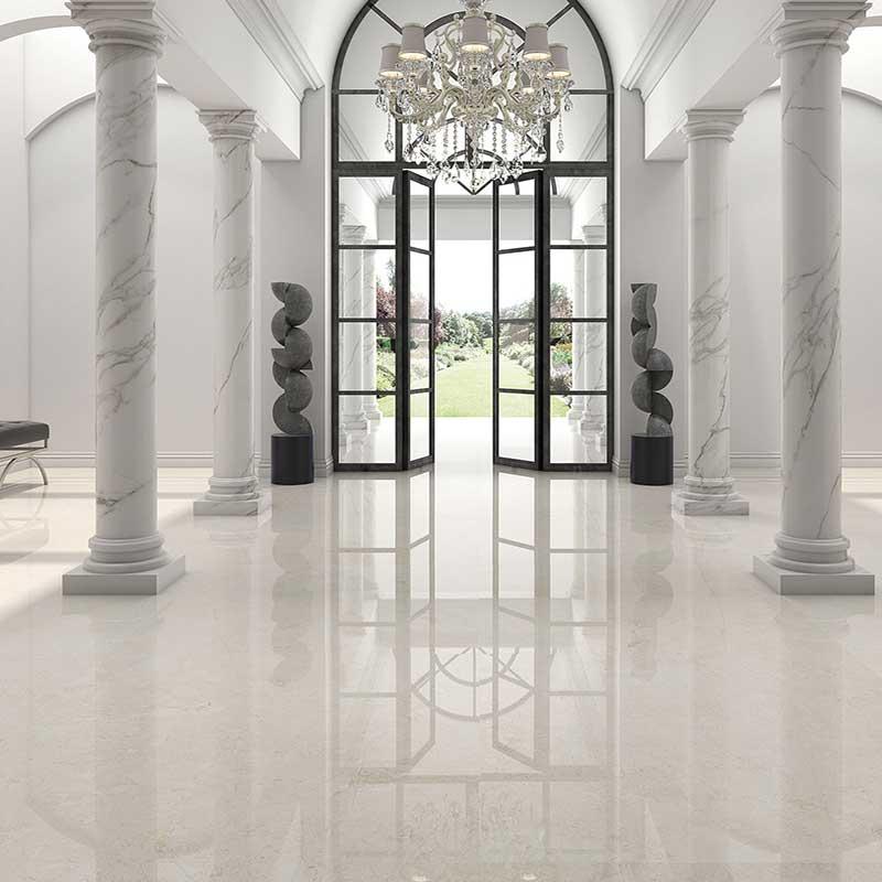 Blenheim marble effect porcelain tiles