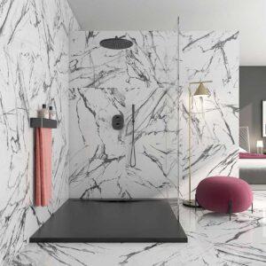 Larisa-Black-polished-marble-porcelain 120 x 60