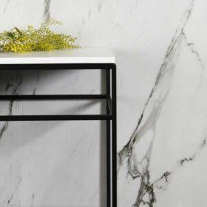Statuario Supreme Marble porcelain tiles 3 opt